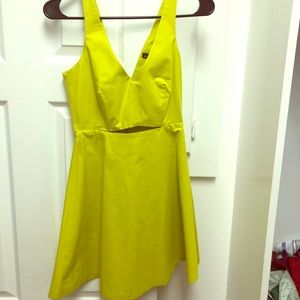 ZARA summer Lemmon dress